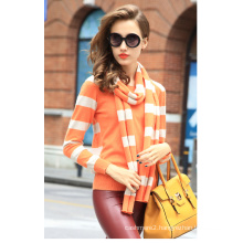 Women′s Cashmere Sweater with Round Neck (13brdw117-1)