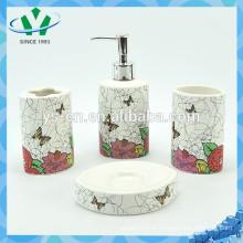 Unités de salle de bains en céramique colorées au printemps pour le décor