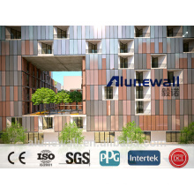 Alunewall 2M width double side Copper Composite Panel CCP 3mm 4mm 5mm