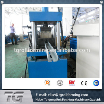 high quality cheap supermarket shelves standing pillar roll forming machine made in China