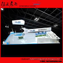 10x12m Roofless White Floor China Aluminum Wooden Vocal Booth