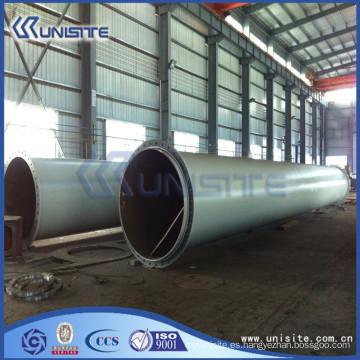 Tubo de acero de la estructura de la alta calidad para las dragas (USC4-007)