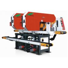 Modelo Xlh-250 * 2 banda horizontal Sawhorizontal máquina de sierra de banda