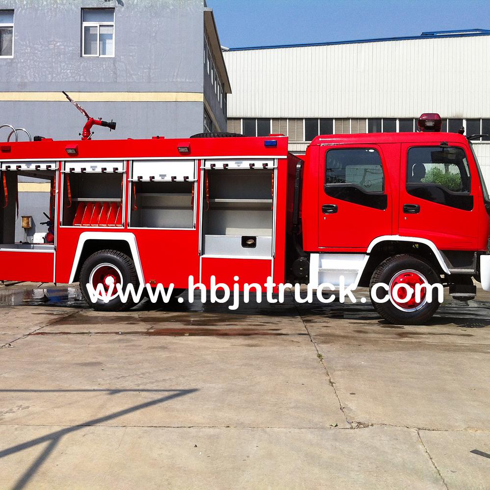 Isuzu Water Tank Fire Truck
