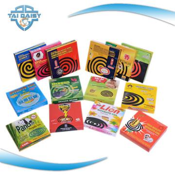 12 heures de soudure parfumée Black Automotive Mosquito Repellent Coils / Good Fly Coils