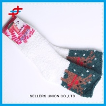Kids Socks For Christmas Warm New Year Holiday Socks Floor