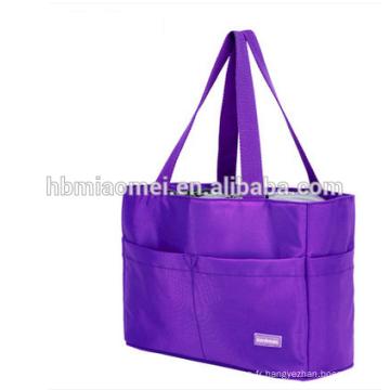 2017 nouvelle arrivée couleur unie maman sac SGS certifié sacs à couches étanche à l'eau jetable sac à couches