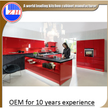 High Gloss Lacquer Kitchen Cabinets for Sale (customized)