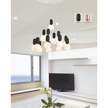 Simple decoración de moda LED colgante de luz (AD15009-14B)