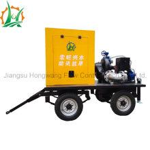 Easy-Maintance 6 pulgadas horizontal en línea de la estación de bombeo diesel