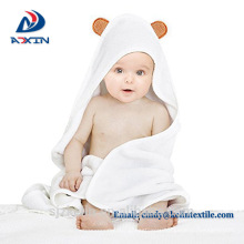 wholesale multi-use cartoon animal kids baby hooded bathtowel