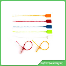 Sellos de plástico de seguridad, 230 mm de longitud, sellos ajustables de plástico