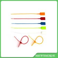 Selos plásticos da segurança, comprimento de 230mm, selos ajustáveis plásticos