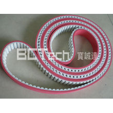 PU Timing Belt Coated With 4mm Red Rubber
