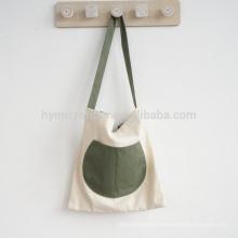 Eco freundliche atmungsaktive maßgeschneiderte billige Damen Segeltuchtasche