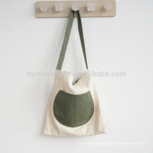 Eco friendly breathable customized cheap ladies canvas bag