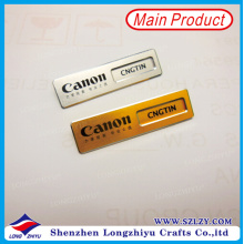 Canon Camera Company Logo Name Badge Name einfügen