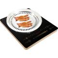 Knopf-Steuerung 2000K und Noten-Steuerelektrischer Induktions-Kocher gegen Infrarotkocher