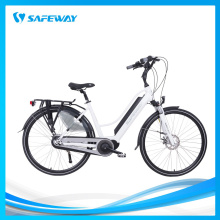 Half-hidden lithium battery electric bike city bike
