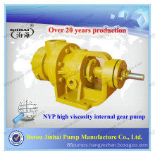NYP high viscosity internal gear chocolate pumps