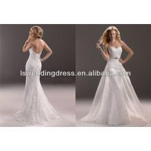 WD2362 преодоления профессионального рукавов оборудованная юбка кепка безупречного свадебного платья