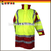 Custom workwear waterproof outer wear work reflective bomber jacket