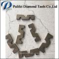W форма абразивные инструменты для резки Алмазный сегмент для гранита Сляба