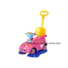 3 dans 1 voiture multifonctionnelle d'oscillation de scooter d'enfants avec la pédale