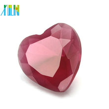 2018 moda jóias AB cor cristal de vidro grande coração pingente em massa CP136