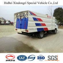 5cbm Compact Isuzu Vacuumed Road Sweeper Truck Euro 4