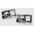 Black Nickel Plating Shoe Pin Buckles 9mm