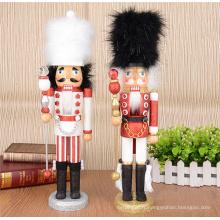 statuette en bois fait à la main soldat statues en bois