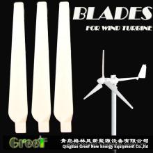 FRP horizontale du vent lames 3PCS Baldes pour éolienne