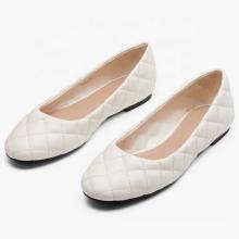 China Factory Cheap Price Low MOQ Custom Slip-On Comfort Flat Women's Casual Shoes