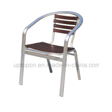 Metal Restaurant Armrest Cafe Chair for Outdoor (SP-OC709)
