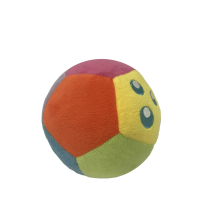 Bunter Plüsch-Fußball für Baby