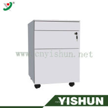 Moving filing cabinet,Silver File Cabinet,steel office furniture