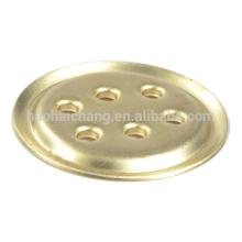 O condicionador de ar parte o flange fixo poroso de bronze de alta qualidade do OEM 1.0mm