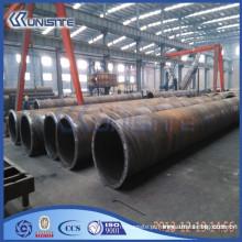 Tubo de enchimento de solda de aço com ou sem flanges (USB2-058)