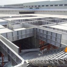 Cofragem em alumínio personalizado para paredes de concreto