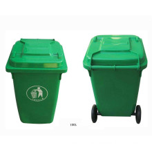 Eco-Friendly Recycle Plastic Trash Can/ Garbage Bin (FS-80100)