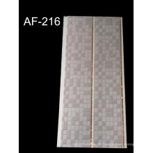 Holzfarben-PVC-Wandplatte