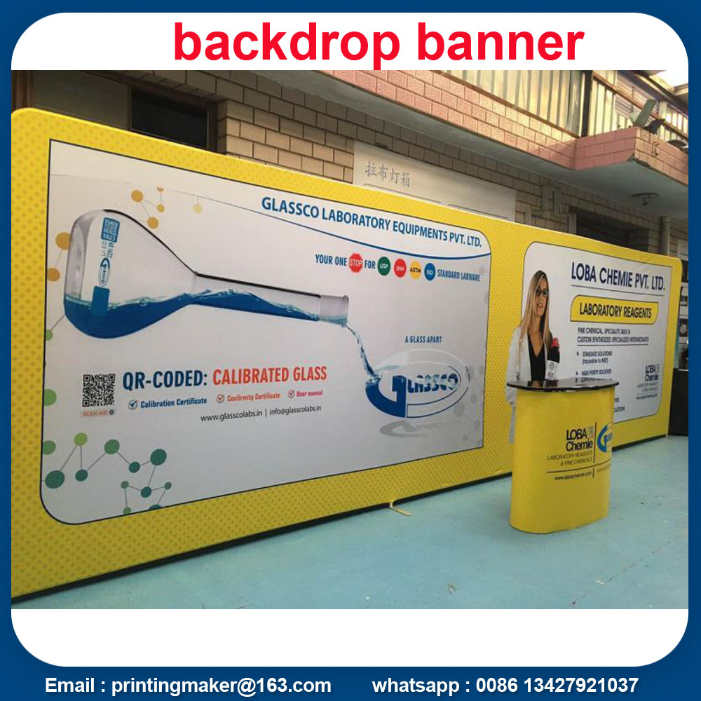 Stretch Fabric Backdrops