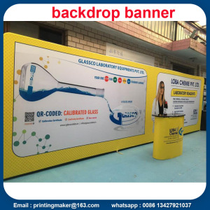 Stretch Fabric Tube Backdrops