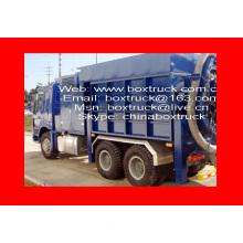 Vacuum Suction Truck Body