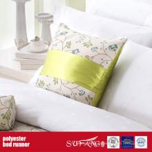 Coureur de lit de Motel de tissu de décoration de poly