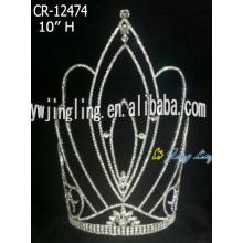 10 Inch Big Crown Fashion Tiara For Girl