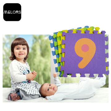 Melors Educational Alphabet Puzzle Jigsaw Mat para niños