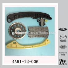 Kit de cadena de sincronización de calidad excelente para Mitsubishi 4A90 4A91 4A91-12-006