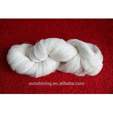 Hilado de nilón 24NM / 1 del telar jacquar del rayón de la viscosa para el suéter femenino